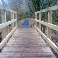 Footbridge & Pathway