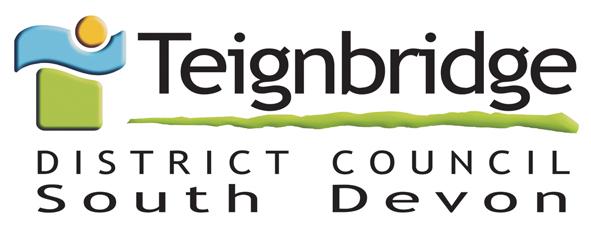 Teighbridge District Council South Devon Logo