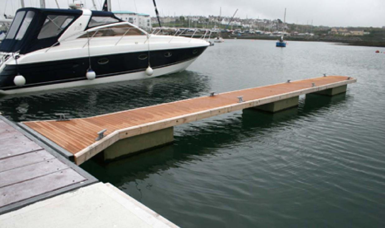 Replacement Pontoon Decking Tms Maritime Ltd
